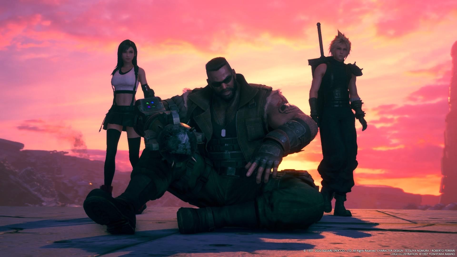 Final Fantasy 7 Remake Difficile