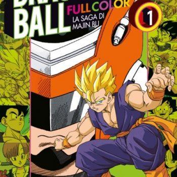 Majin Bu 350x350 - Dragon Ball Full Color, in arrivo la saga di Majin Bu