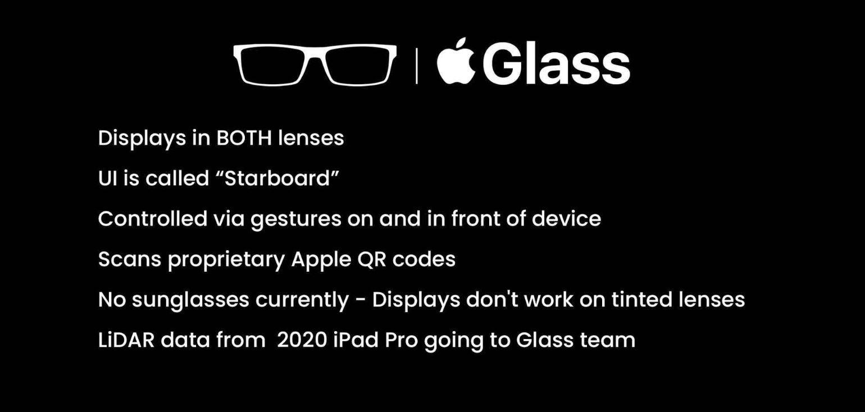 apple glass 1 - Apple Glass, trapelano in rete prezzo, data di lancio ed altri dettagli