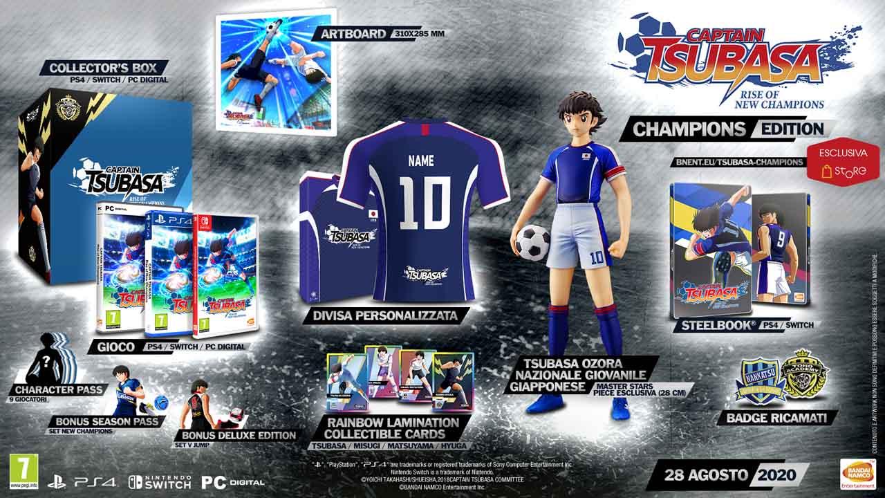 captain tsubasa rise of new champions champions edition - Captain Tsubasa: Rise of New Champions, quello che sappiamo