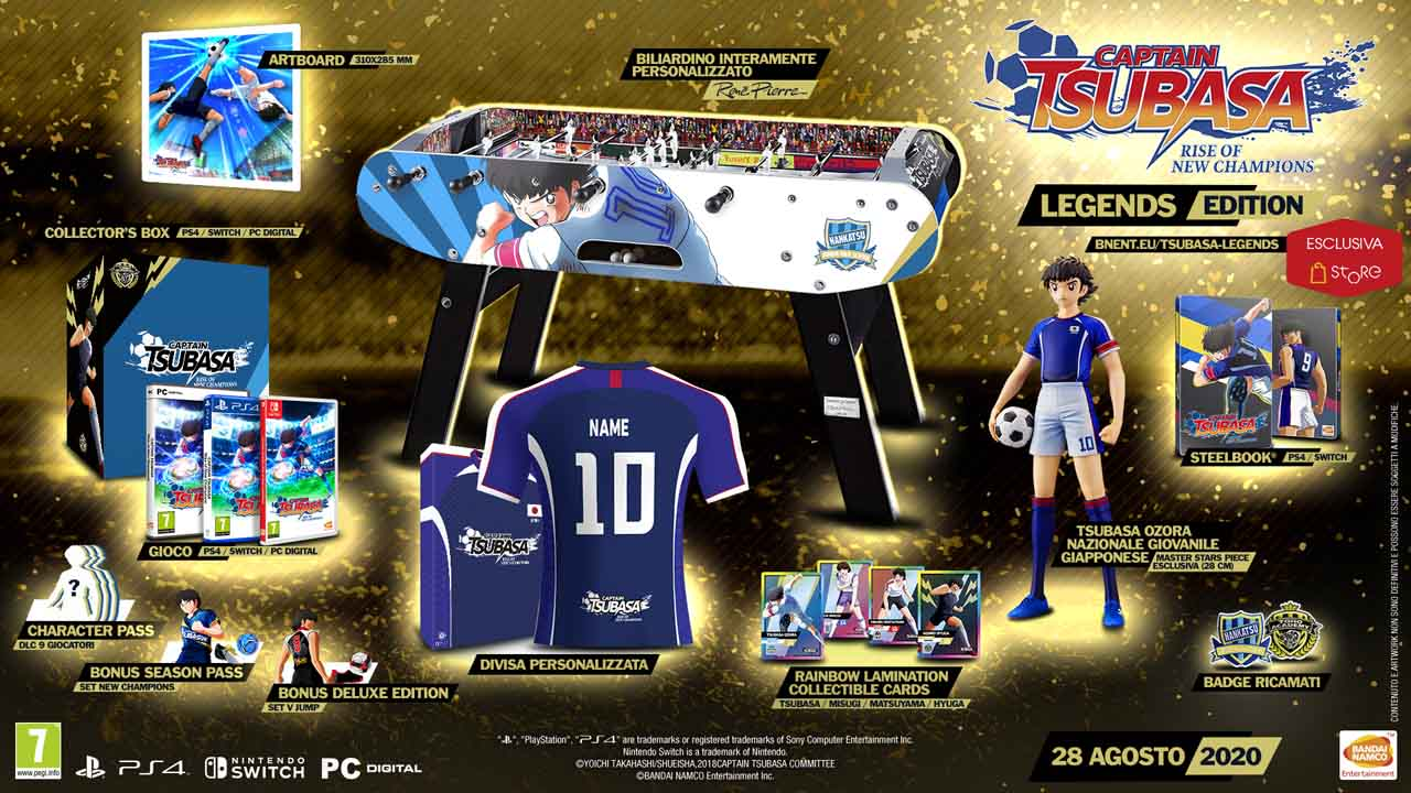Captain Tsubasa: Rise of New Champions - Legends Edition