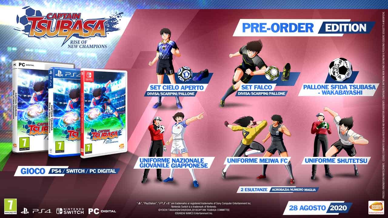 captain tsubasa rise of new champions pre order edition - Captain Tsubasa: Rise of New Champions, quello che sappiamo