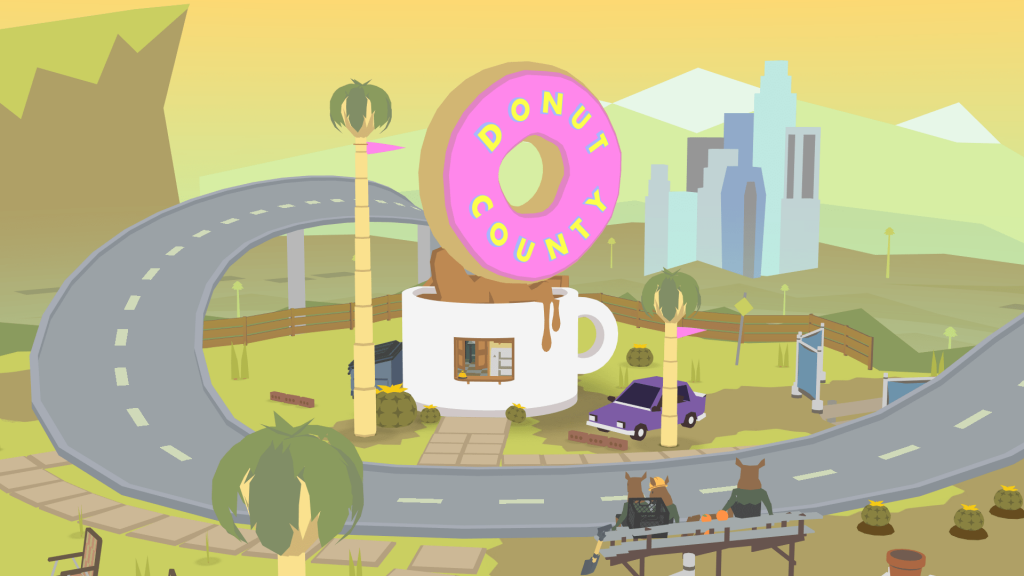 Donut County 1024x576 - 10 giochi facili da platinare su PlayStation 4