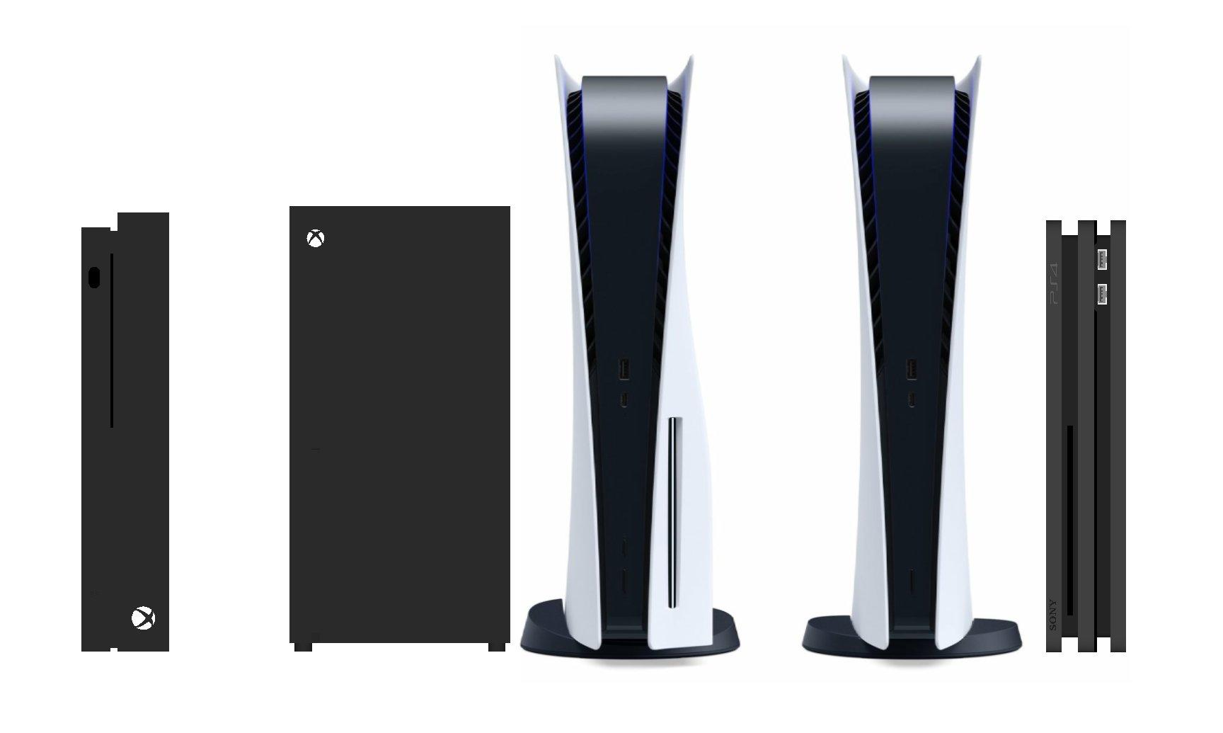 EaREHicXYAAT62M - A confronto le dimensioni di Xbox Series X e PlayStation 5