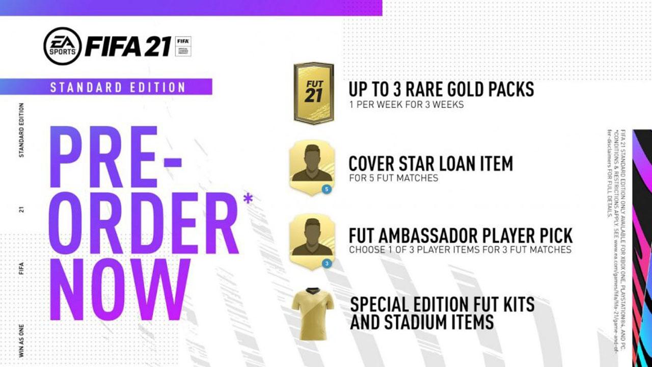 FIFA 21 Standard - FIFA 21, ecco data di uscita ed edizioni del nuovo titolo EA