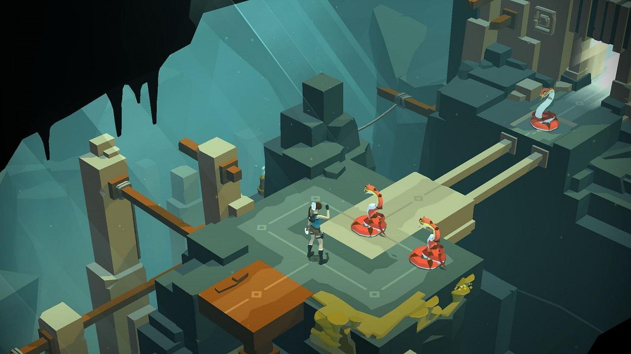 Lara Croft Go - 10 giochi facili da platinare su PlayStation 4