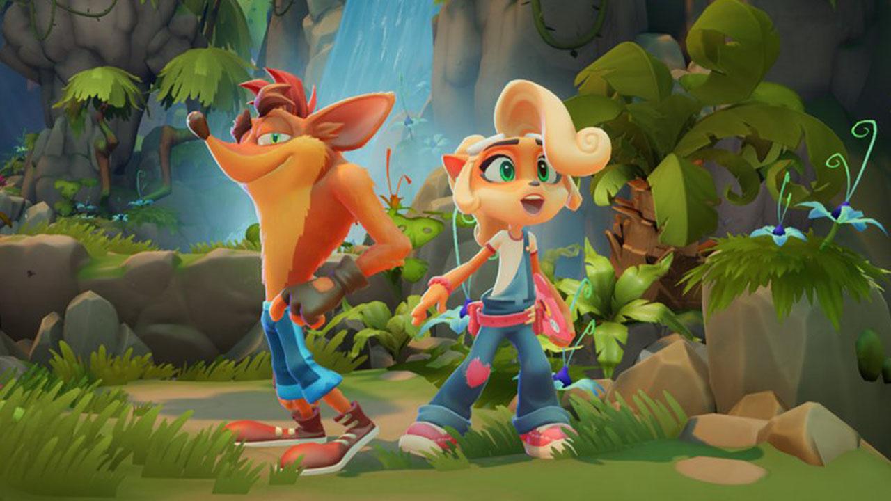 Crash Bandicoot 4: It's About Time Coco e Crash