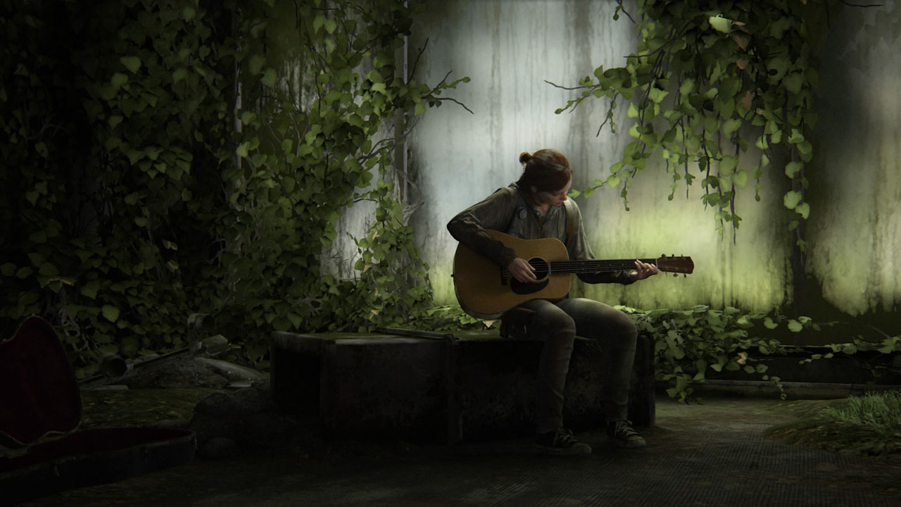 The Last of Us Parte 2 Ellie Chitarra Solo