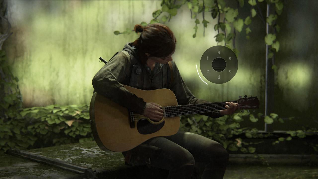 The Last of Us Parte 2 Ellie Accordi