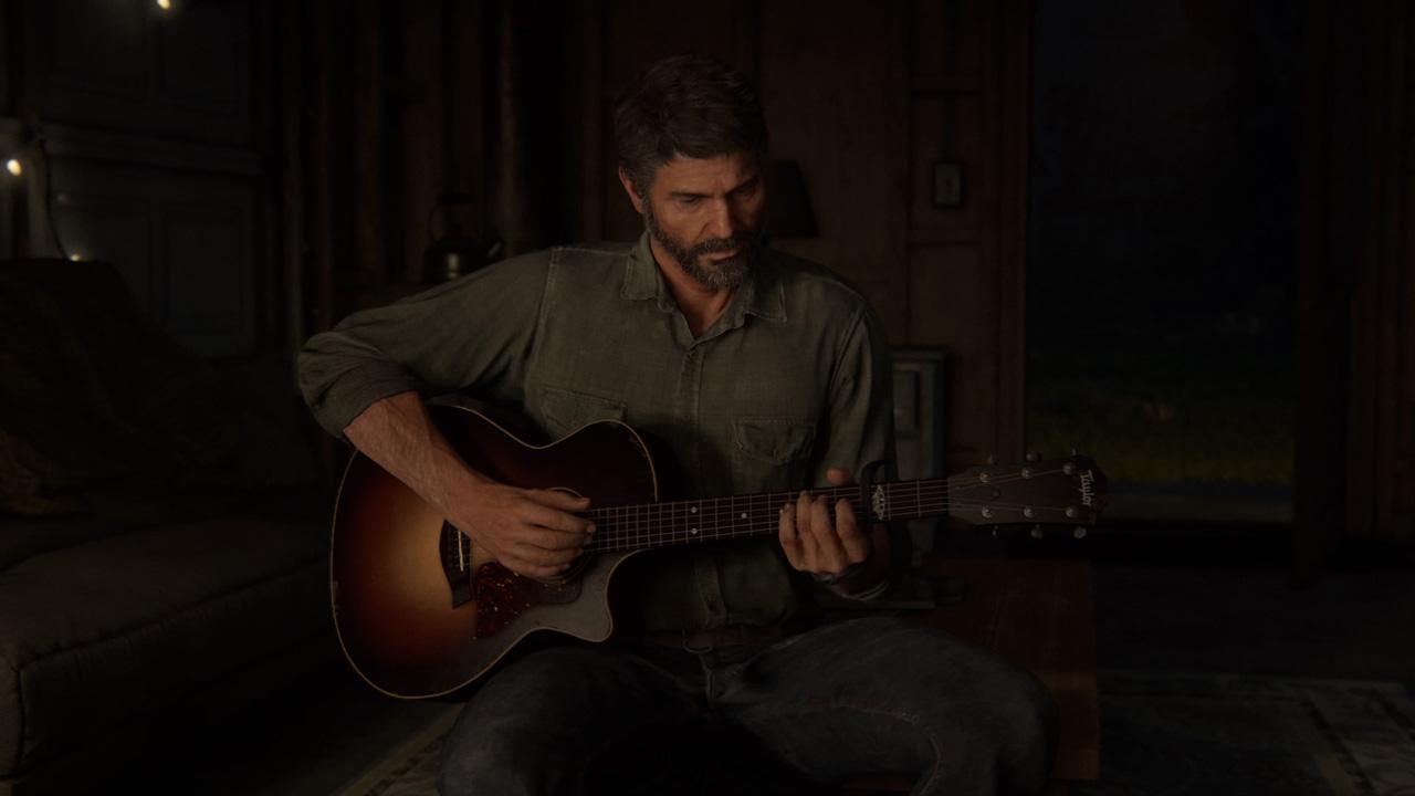 The Last of Us Parte 2 Joel Chitarra