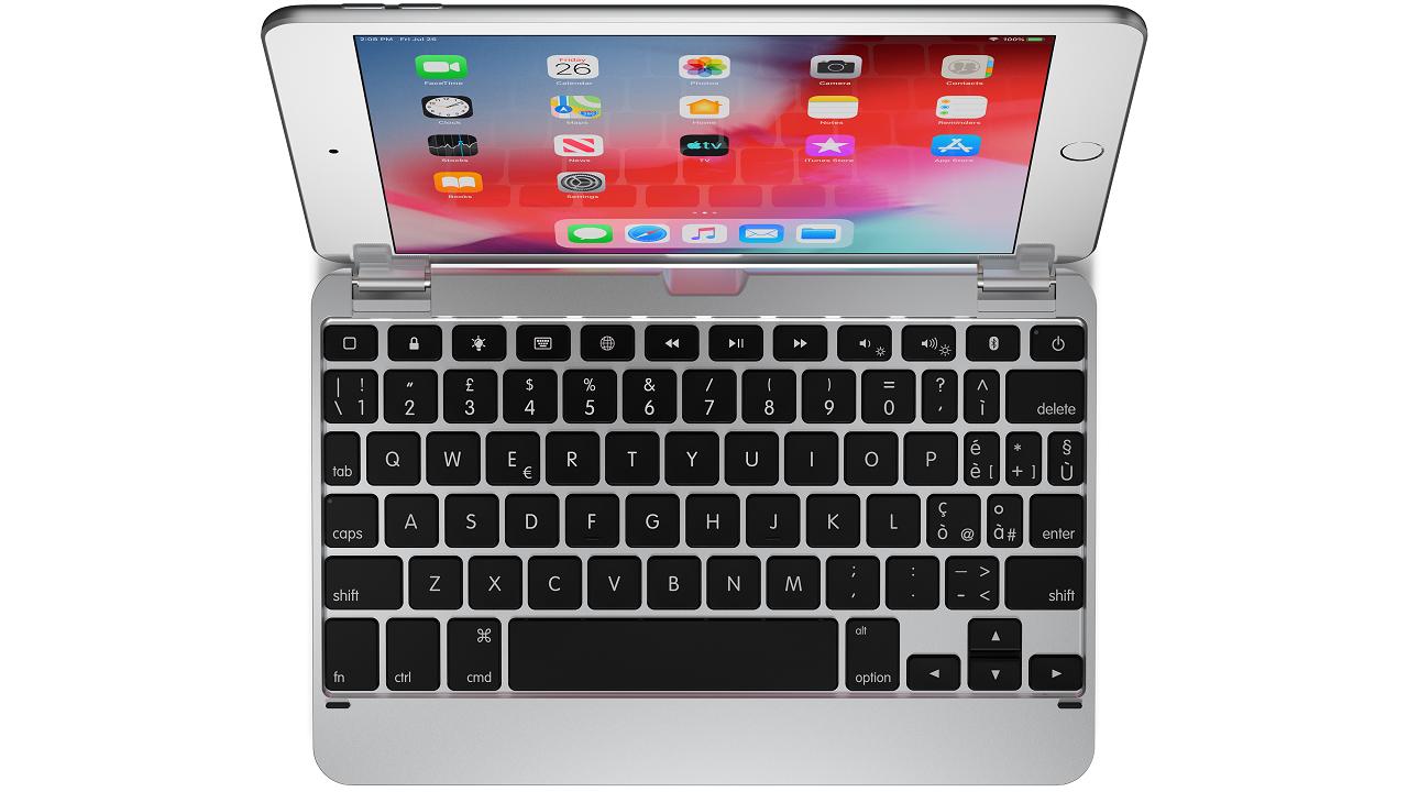 Italian BRY5201IT Top Down - Le tastiere Brydge per iPad sono disponibili con il layout italiano