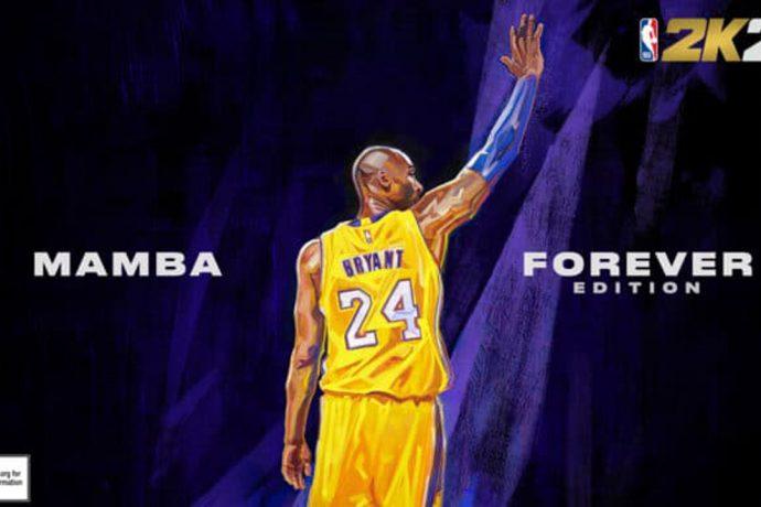 NBA 2K21 Mamba Forever Cover