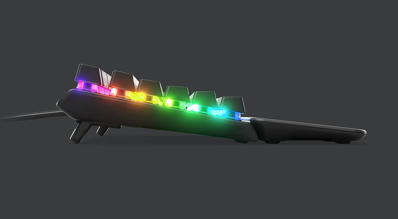steelseriesapex5 side - Recensione tastiera SteelSeries Apex 5