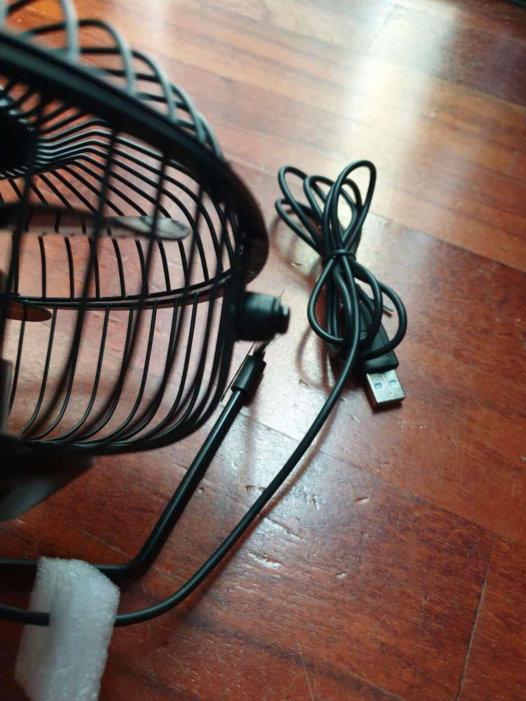 EasyAcc Ventilatore da Tavolo 3 768x1024 - Recensione dei ventilatori USB super economici di EasyAcc
