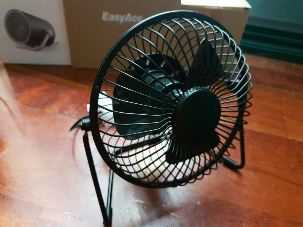 EasyAcc Ventilatore da Tavolo 5 1024x768 - Recensione dei ventilatori USB super economici di EasyAcc