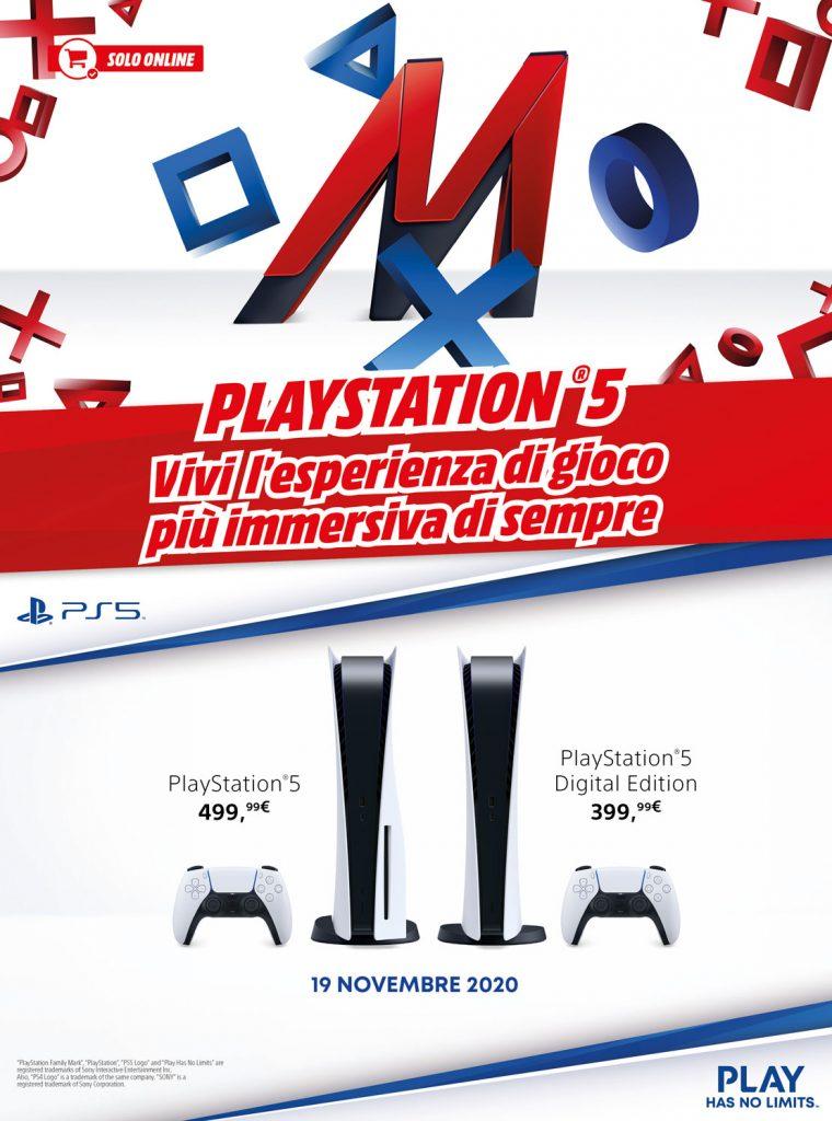 mediaworldPS5 1 760x1024 - PS5 di nuovo prenotabile da domani su Mediaworld e Unieuro