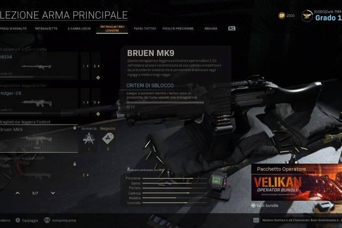 Call of Duty: Modern Warfare Bruen