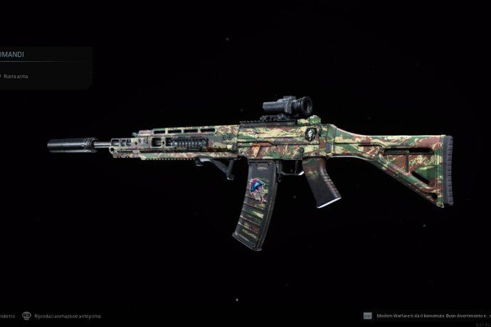 Call of Duty: Modern Warfare Grau