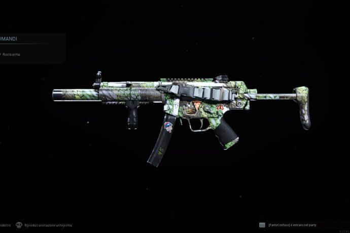 Call of Duty: Modern Warfare Mp5