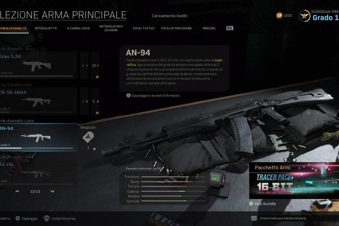 Call of Duty: Modern Warfare AN-94