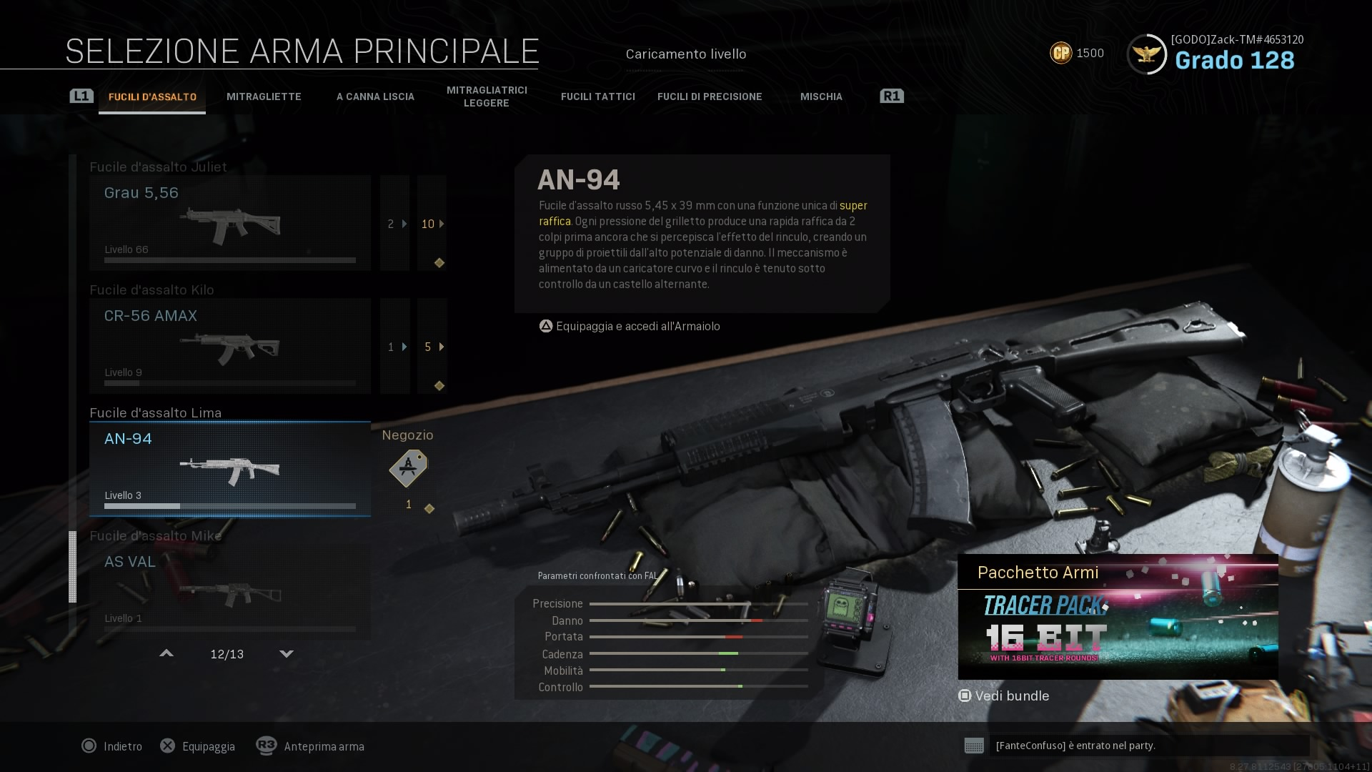 Call of Duty: Modern Warfare AN-94