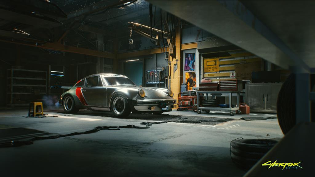 Cyberpunk 2077 Porsche 911 Turbo 1024x576 - CD PROJEKT RED annuncia la collaborazione con Porsche per Cyberpunk 2077