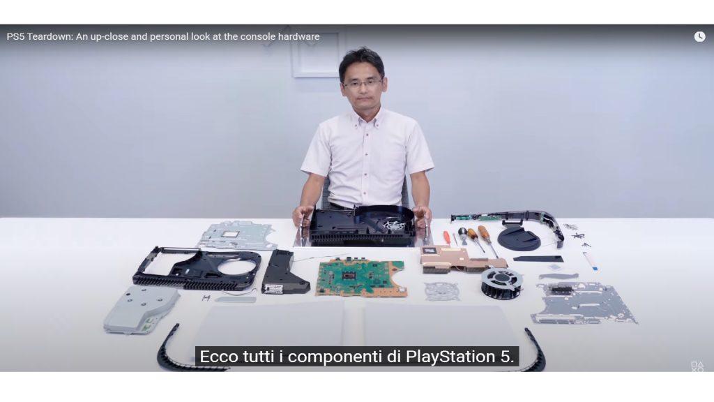 PS5 teardown 1024x576 - PS5, ecco come è fatta la console