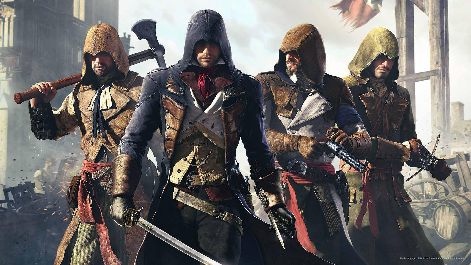 Assassin's Creed Unity Xbox Series X