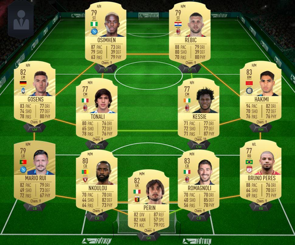 buggatoni serie a - FIFA 21 – FUT Ultimate Team, i giocatori più buggati della Serie A