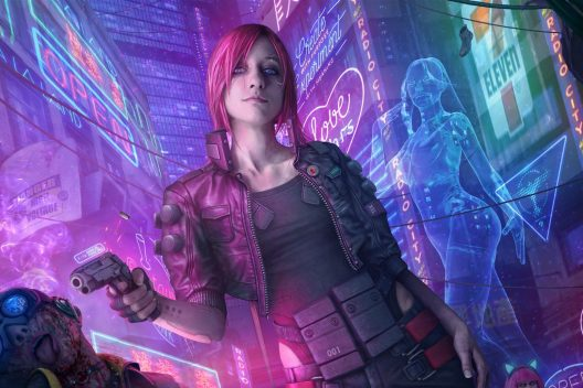 cyberpunk 2077 pink girl ext 528x352 - Home