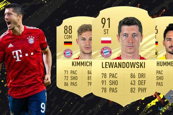 Squadra più forte Bundesliga FUT 21