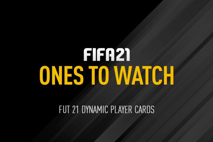FIFA 21 - FUT Ultimate Team Ones To Watch
