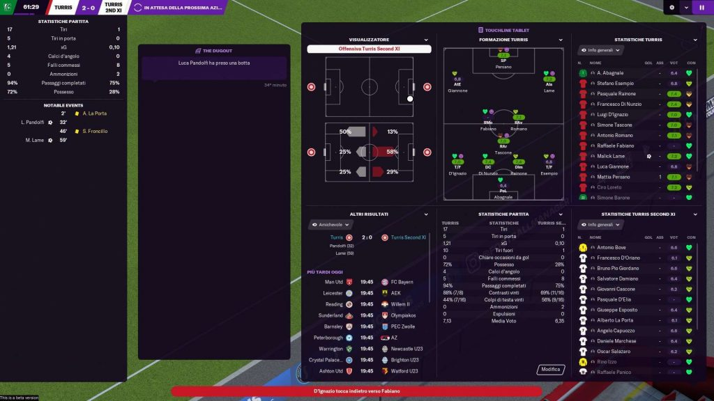 Football Manager 2021 screenshot 5 1024x576 - Recensione Football Manager 2021