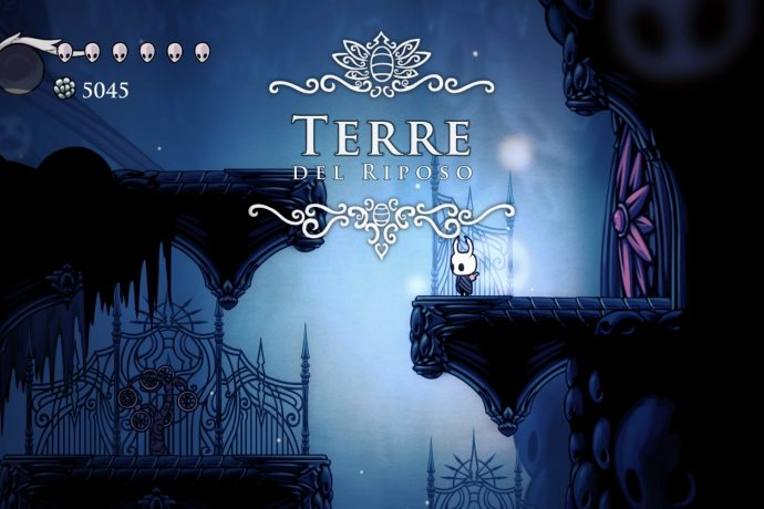 Hollow Knight Terre del Riposo