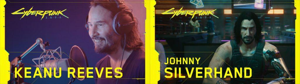 KeanuJohnny merged 1024x288 - Il nuovo Night City Wire mostra Johnny Silverhand, il gameplay e nuovi dettagli di Cyberpunk 2077!