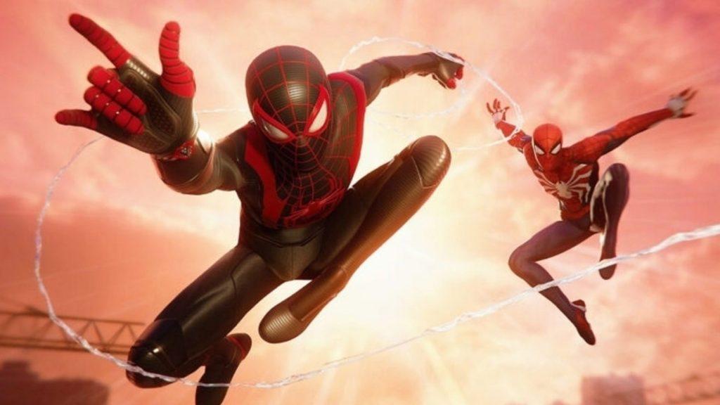 Spider-Man: Miles Morales training