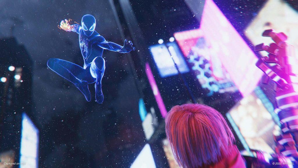 Spider-Man: Miles Morales mimetizzazione