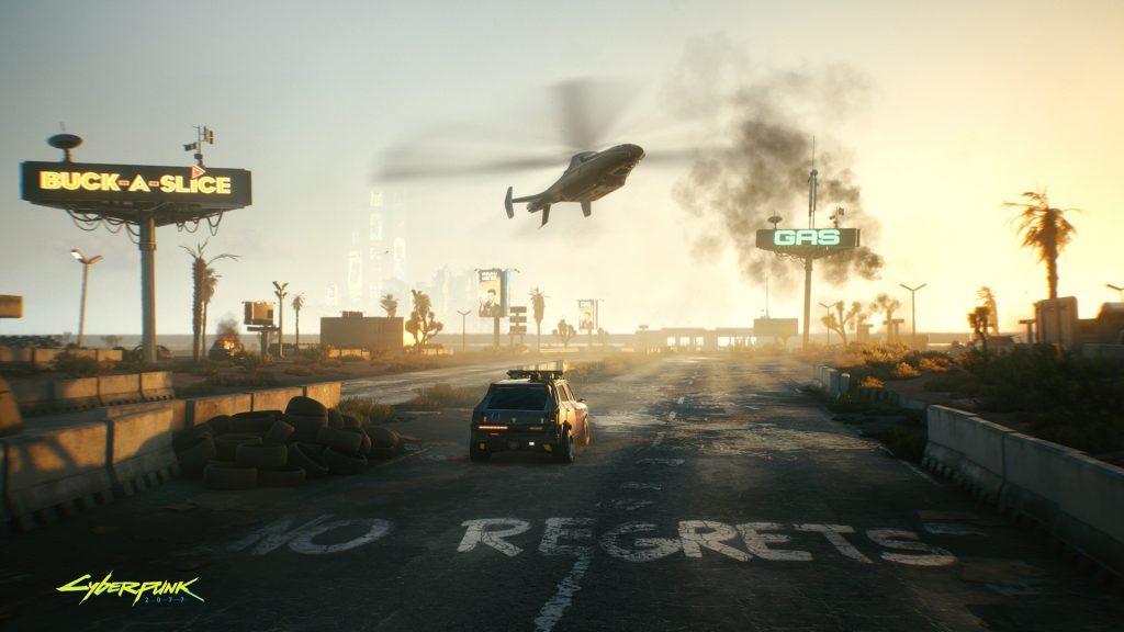 Cyberpunk 2077 Badlands District Prologue The Nomad 1024x576 - Recensione Cyberpunk 2077