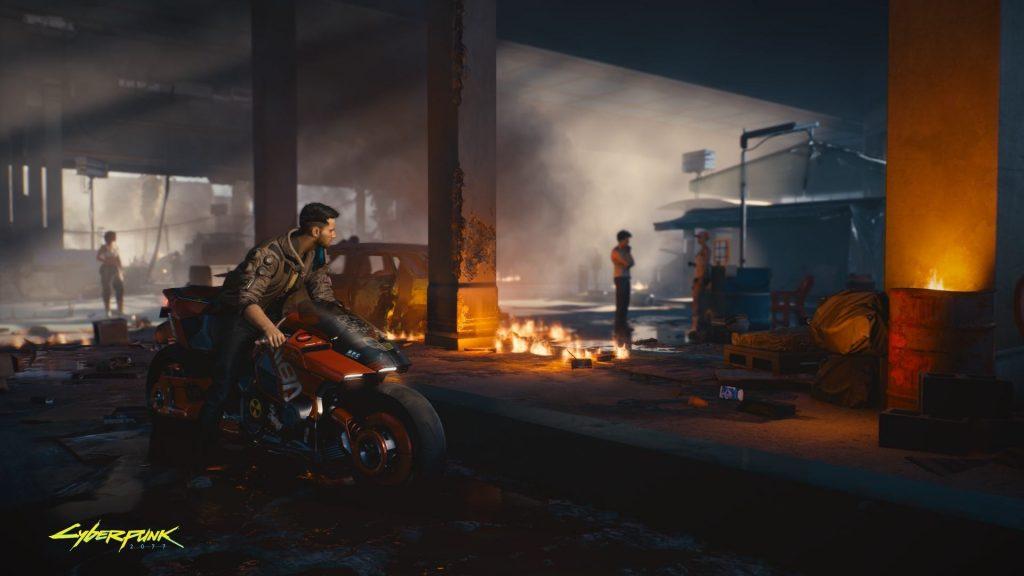 Cyberpunk 2077 Driving Through Pacifica on a Motorbike 1024x576 - Recensione Cyberpunk 2077