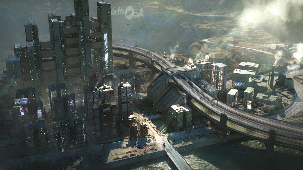 Cyberpunk 2077 Westbrook Charter Hill 1024x576 - Recensione Cyberpunk 2077