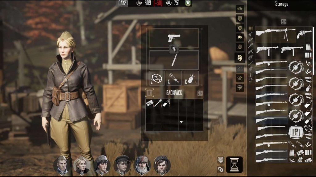 Partisans 1941 Inventory 1024x576 - Recensione Partisans 1941