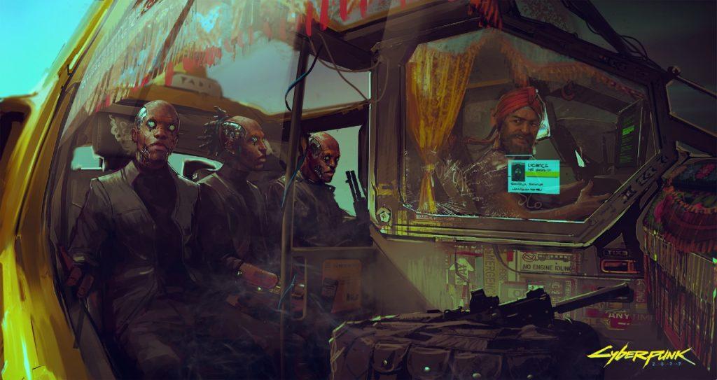 cyberpunk 2077 concept art 3 1024x543 - Cyberpunk 2077 - Speciale lore: il Dopoguerra e la Riunificazione
