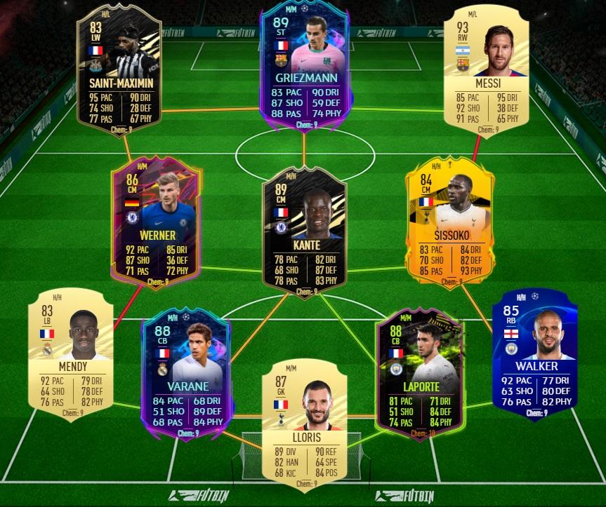Ibrida BPL Liga 2 - FIFA 21 - FUT Ultimate Team, migliore squadra ibrida Premier League/Liga