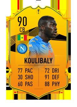 KOULIBALY - FIFA 21 – FUT Ultimate Team, i difensori centrali più forti della Serie A