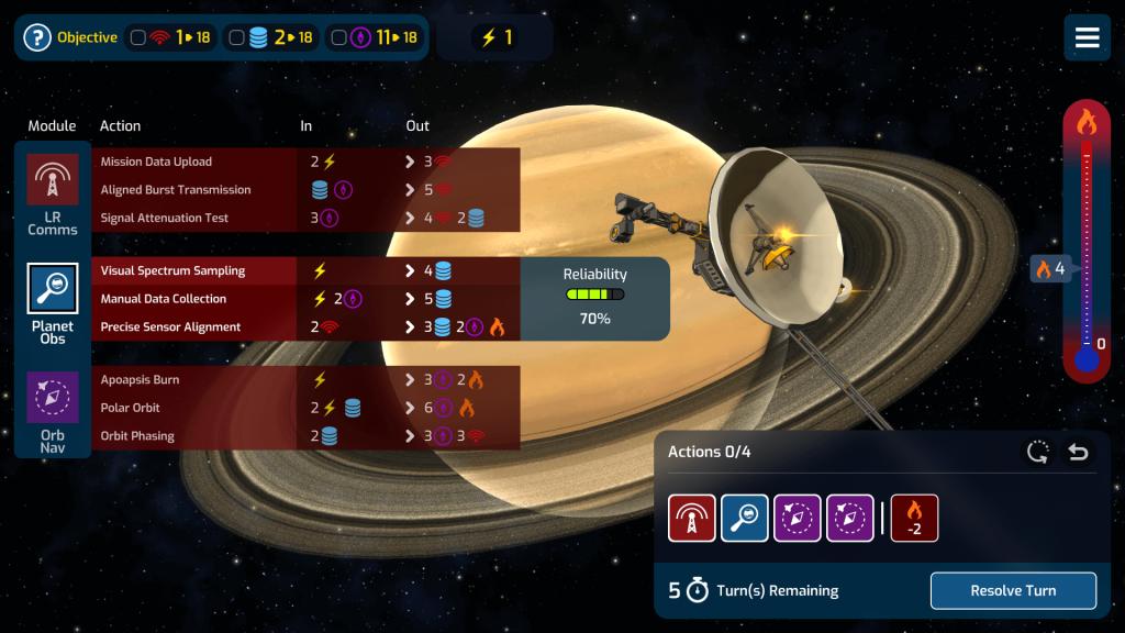 Saturn Mission Gameplay 1024x576 - Recensione in pillole: Mars Horizon