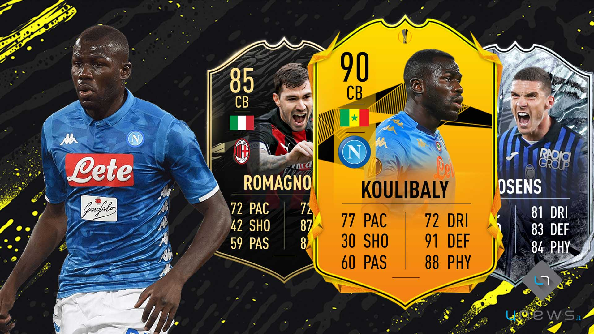 FIFA 21 - FUT Ultimate Team difensori più forti Serie A