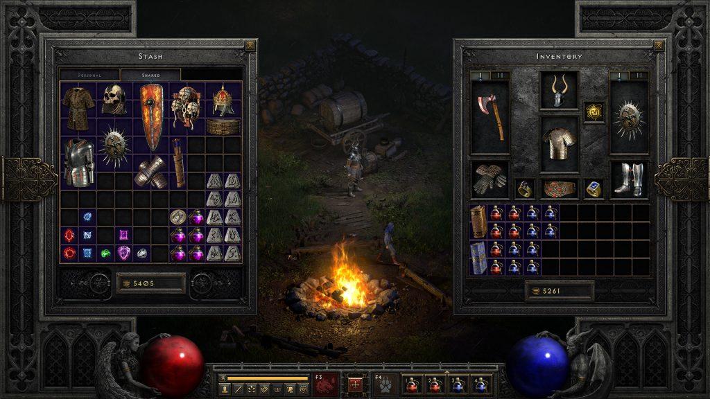 Diablo 2 - Inventory