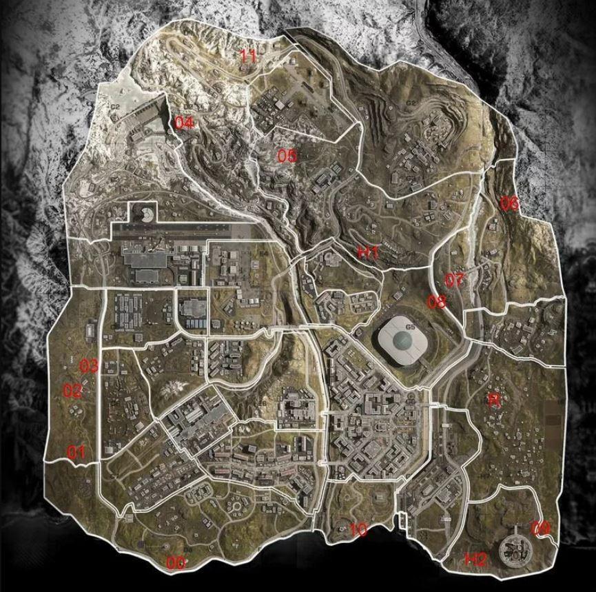 mappa codici