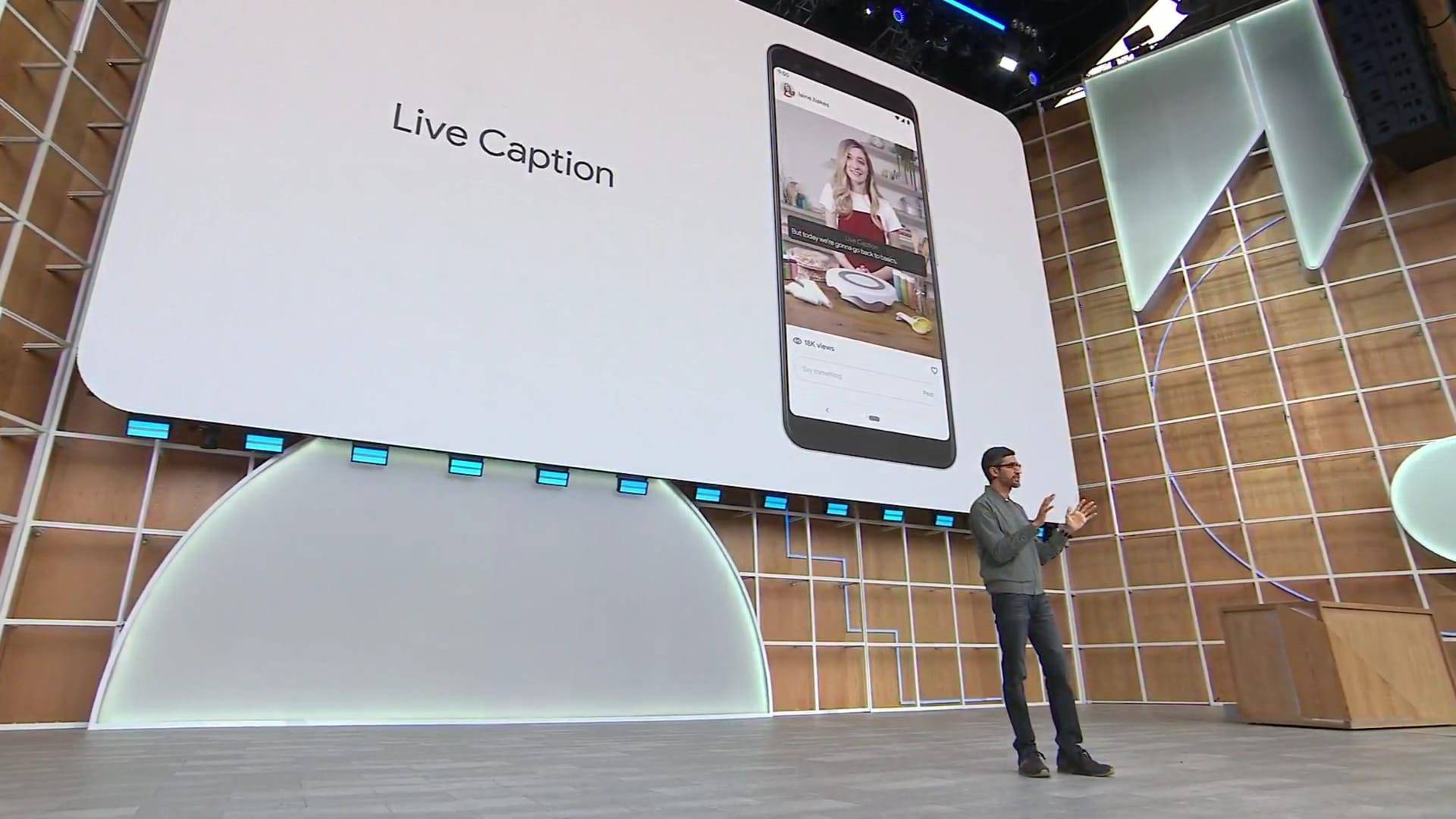 live caption google