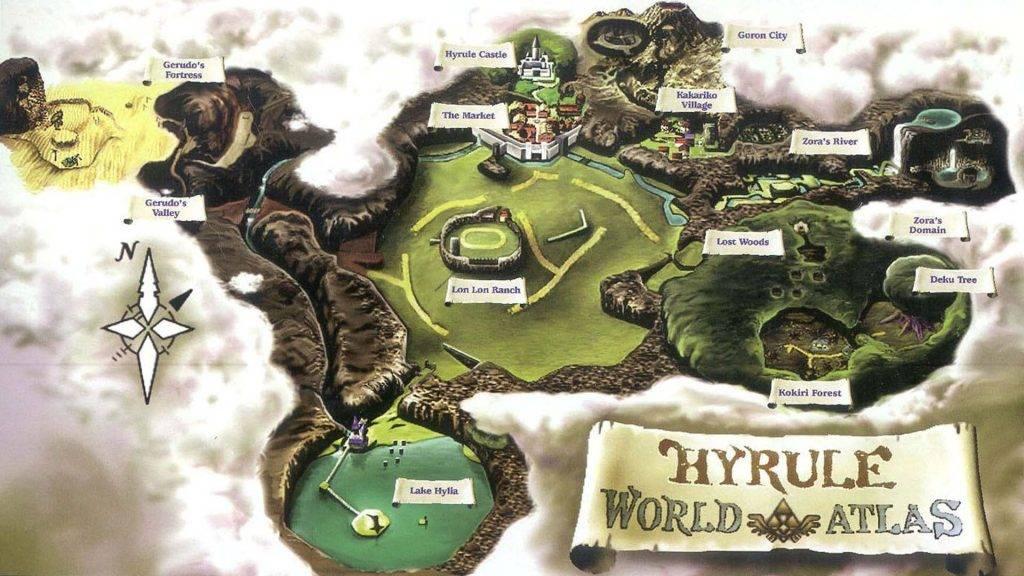 The Legend of Zelda Mappa